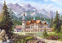 Замок у подножия гор